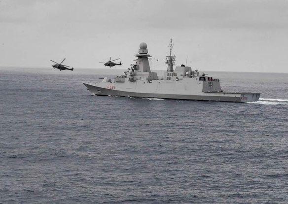Nave RIzzo, Operazione Gabinia