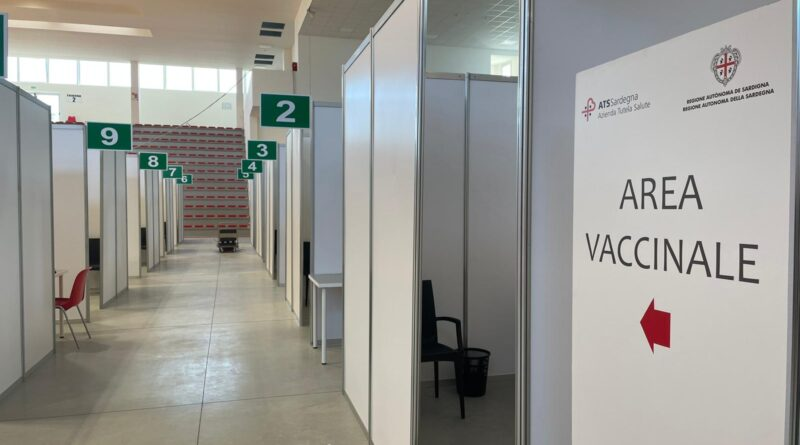 Hub vaccinale Oristano