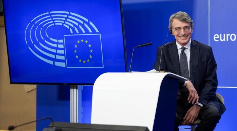 David Sassoli, foto DAINA LE LARDICCopyright© European Union 2020 - Source : EP