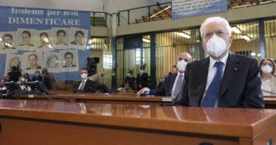 Sergio Mattarella, Carcere dell'Ucciardone, foto di Francesco Ammendola - Ufficio per la Stampa e la Comunicazione della Presidenza della Repubblica
