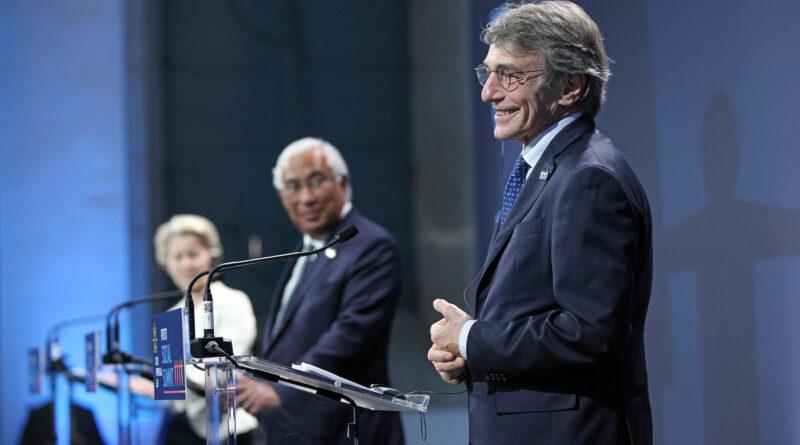 David Sassoli, © Portuguese Presidency of the Council of the European Union 2021 – Antonio Pedro Santos/Lusa