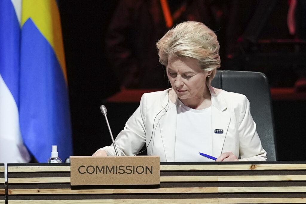 Ursula von der Leyen, © Portuguese Presidenct of the Council of the European Union 2021 - Gonçalo Delgado