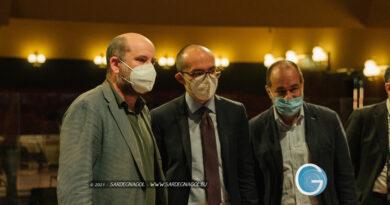 Antonio Albanese, Paolo Truzzu, foto Sardegnagol, riproduzione riservata