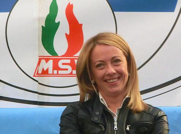 Giorgia Meloni, foto Jose Antonio