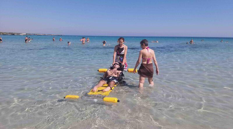 spiaggia , disabilità