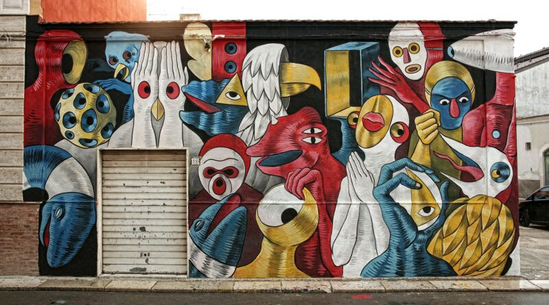 Street Art, Foto di Lino Lombardi da Pixabay