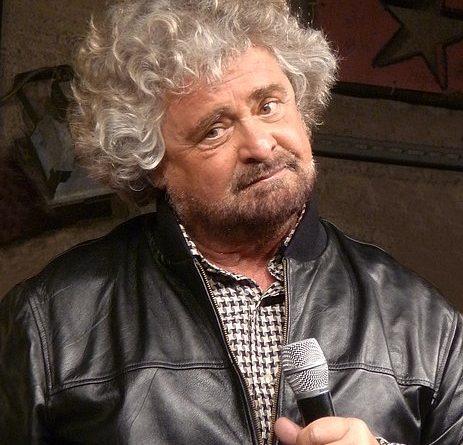 Beppe Grillo, foto Lucarelli