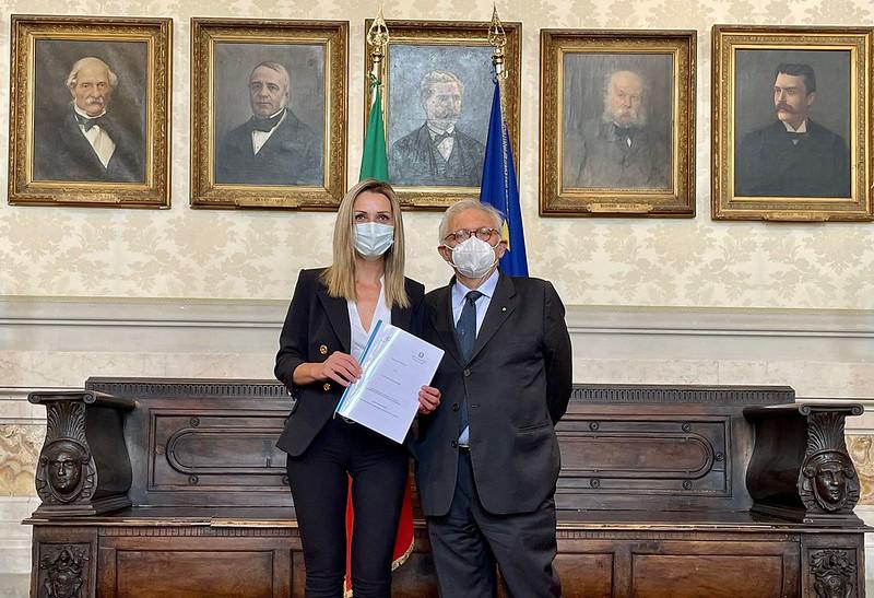 Patrizio Bianchi, Valentina Vezzali
