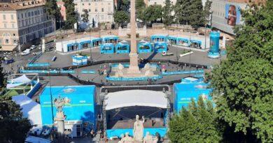 Piazza del Popolo, polizia di Stato