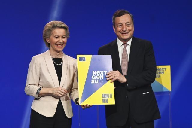Ursula von Der Leyen, Mario Draghi
