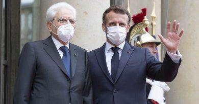 Sergio Mattarella, Emmanuel Macron foto Quirinale.it