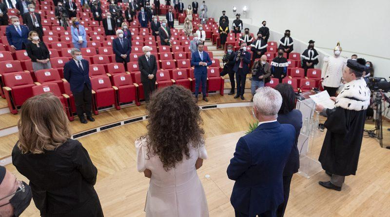 Premiazione Antonio Megalizzi (Foto di Paolo Giandotti - Ufficio per la Stampa e la Comunicazione della Presidenza della Repubblica)
