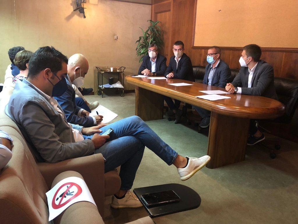 Massimo Zedda, Gianfranco Ganau, Daniele Cocco, Michele Ciusa