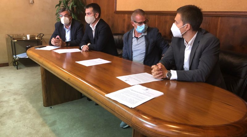 Gianfranco Ganau, Daniele Cocco, Michele Ciusa