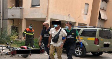 Arresto incendiario Alghero