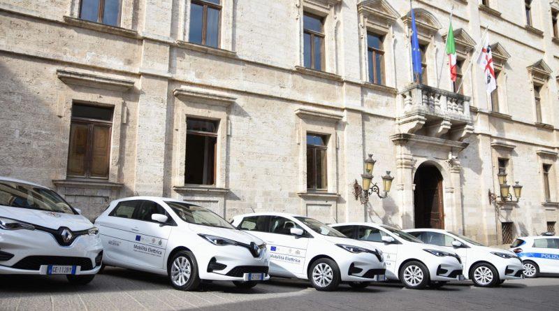 Auto elettriche, Comune di Sassari