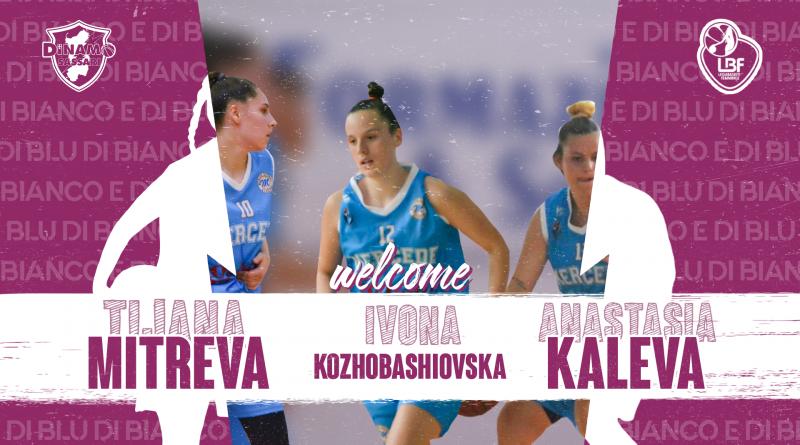 I nuovi innesti della Dinamo Women