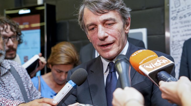 David Sassoli, foto Daina Le Lardic © European Union 2021 - Source : EP