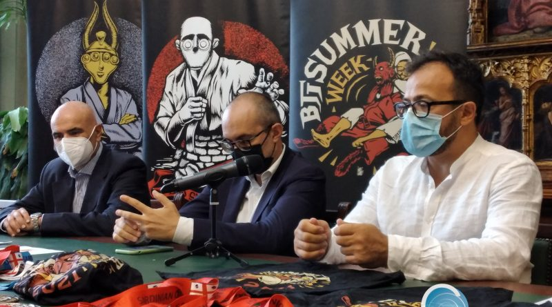 Alessandro Sorgia, Paolo Truzzu, Emanuele Frongia, foto Sardegnagol riproduzione riservata