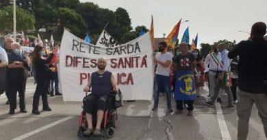 Protesta, foto Dire