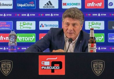 Walter Mazzarri, foto Cagliari Calcio