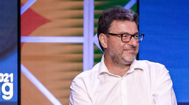 Giancarlo Giorgetti, foto mise.gov.it