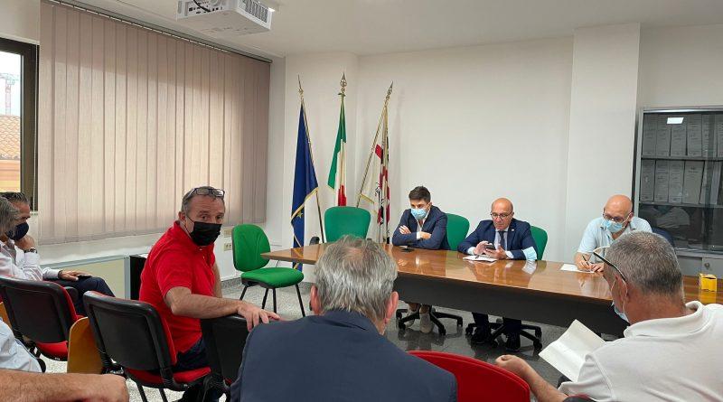 L'incontro dei sindaci dell'oristanese con l'assessore Mario Nieddu