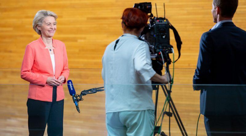 Ursula von der Leyen, foto foto Copyright European Union 2021/Brigitte Hase
