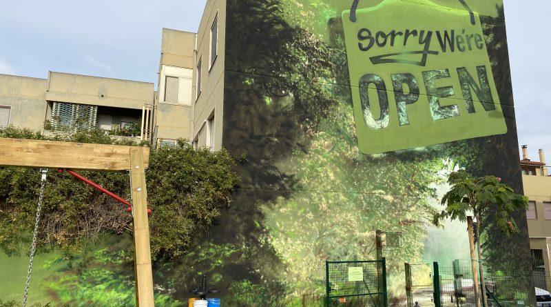 Manu invisible, street art