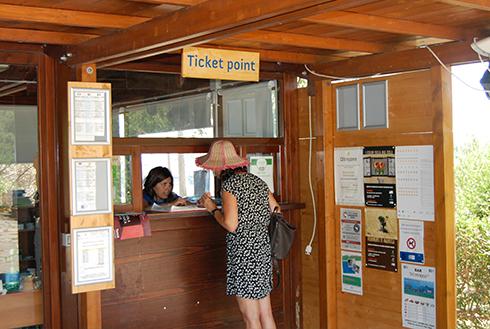 Biglietteria, foto Fondazione Barumini fondazionebarumini.it